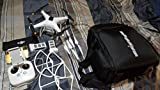 DJI Phantom 3 Advanced Quadcopter Drone with 1080p HD Video Camera & Manufacturer Accessories + Extra DJI Flight Battery + DJI Propeller Set + Water-Resistant Backpack for DJI Phantom 3 Series + MORE