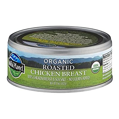 Wild Planet Organic Roasted Chicken Breast 5 oz (Pack of 12)