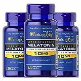 Puritans Pride Melatonin 10 Mg Puritan's Pride Melatonin 10 Mg-120 Capsules (3 Pack)