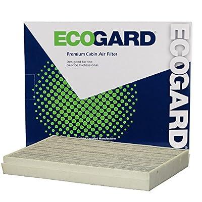 EcoGard XC10575C Premium Cabin Air Filter with Activated Carbon Odor Eliminator Fits Mercedes-Benz Metris 2016-2020, 2500, Sprinter 3500 Diesel 2020: Automotive