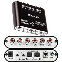 Tekimbe 2016 New HD Audio Rush Digital Audio Gear Decoder Converter Surround Sound Decoder LPCM To 5.1 Analog Output 2.1 DVD PC -48W