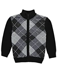 """American Legend Outfitters Little Boys' """"Argyle Access"""" Zip-Up Sweater"""