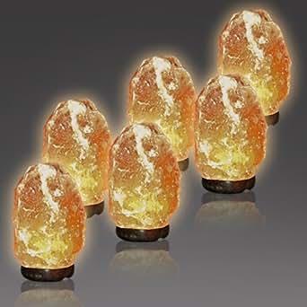 Amazon.com: 6 pack Extra Large Himalayan Salt Lamps (10-14 Lbs) - Wholesale: Home Improvement