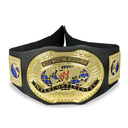(Jakks Pacific WWE World Title Belt: Spinning Championship Belt Champ (RAW) )