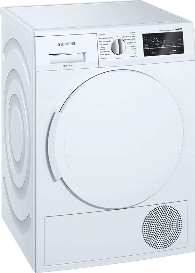 Siemens iQ500 WT47W461ES - Secadora (Independiente, Carga frontal, Bomba de calor, Blanco, Girato...
