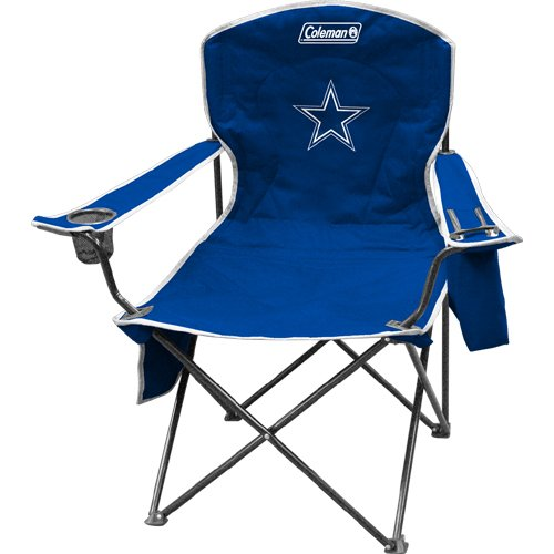 NFL Portable Folding Chair with Cooler and Carrying Case for $<!--$33.97-->