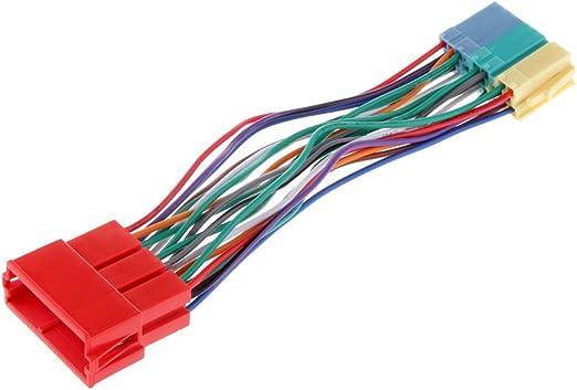 20 Pin Autoradio Adapterkabel Radio Adapter Kabel Kabelbaum Mini Iso Block Adapter Cd Anschluss Auto