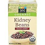 365 Everyday Value Organic Kidney Beans No Salt Added, 13.4 oz