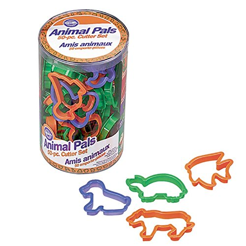 Wilton Animal Pals 50-Piece Cookie Cutter (Cat Cookie Recipe)