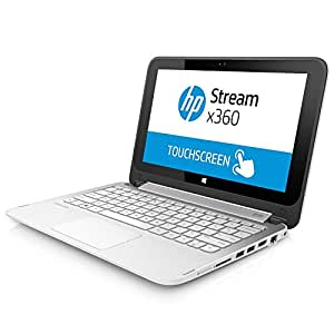 HP Stream X360 11.6? TouchScreen Convertible Laptop/Tablet, Intel N2840 up to 2.58GHz, 2 GB DDR3L RAM, 32GB eMMC HD with MS Office 365 One-Year Subscription