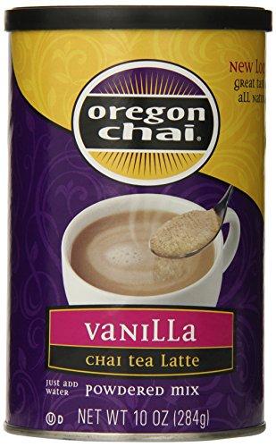 Oregon Vanilla Tea Chai - Oregon Chai Vanilla Chai Tea Latte Mix, 10 Ounce