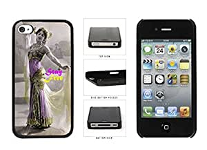 Diy iphone 5 5s case Bollywood and Dancer known Stay Free Plastic Phone Case Back Cover Apple iPhone 4 magnesium 5 5S oranges
