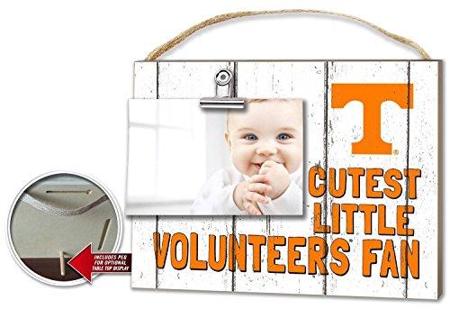 Kindred Hearts NCAA Tennessee Volunteers Cutest Little Fan Clip-It Photo Frame