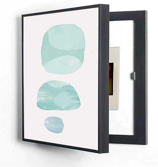 Moderno, pequeño, fresco, tapa, tapa, medidor eléctrico, cuadro ...