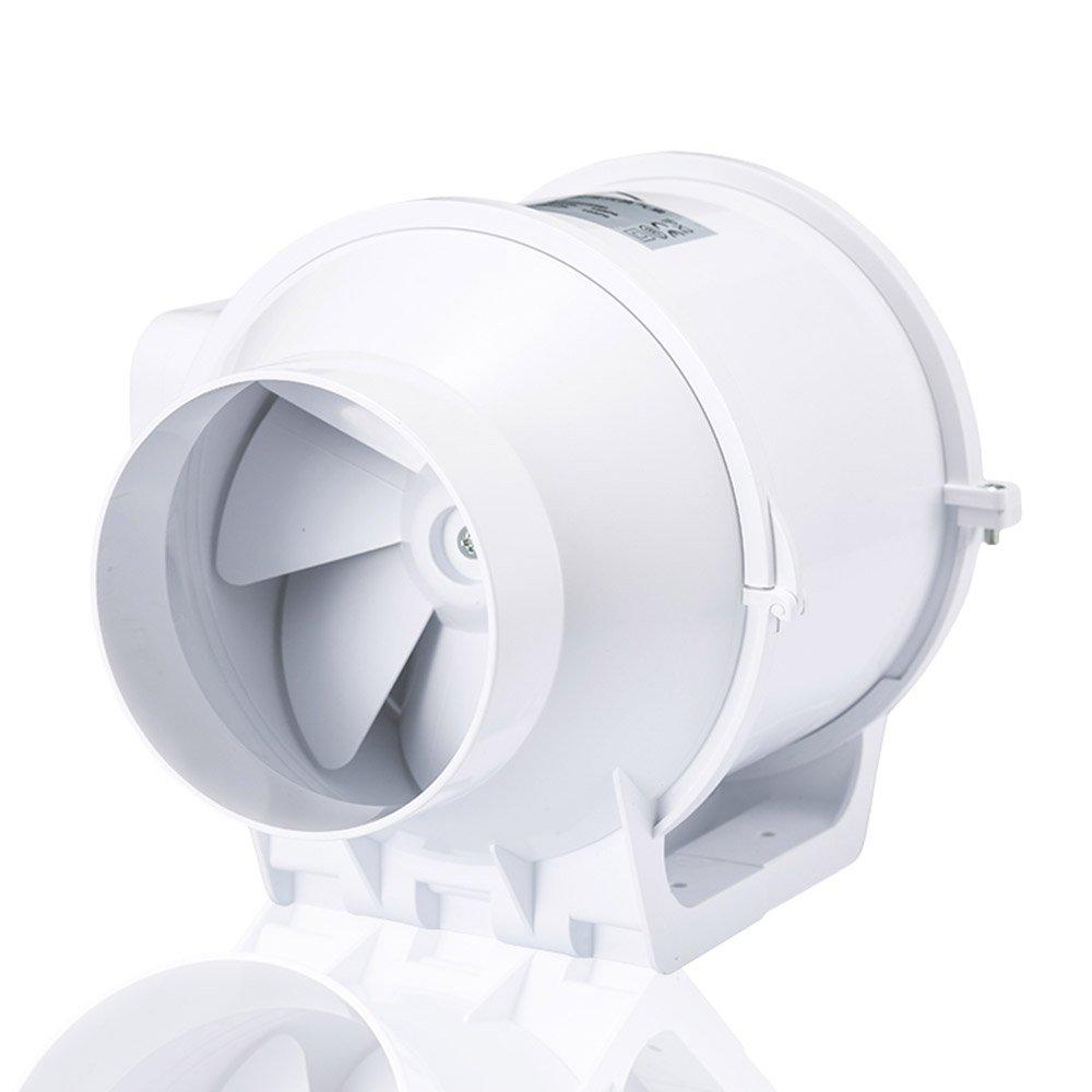 (ホン&ガーン)Hon&Guan ダクト用換気扇 産業用排風機 中間取付 ダクトファン 丸形タイプ 75mm HF-75S B01LYYRMQ8 75mm