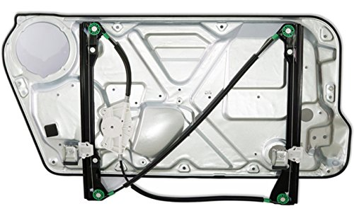 AUTOPA 1C0837655C Front Left Window Regulator with Panel Assembly for 98-10 Volkswagen Beetle