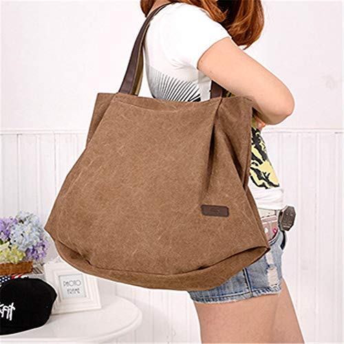 Callejero Bag Tote Azul Hombro Marrón Bolsos Bag de Bandolera Handbag Bolso Mujer FYUpYwrd