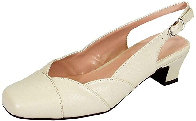 Peerage Eve Women's Wide Width Low Heel