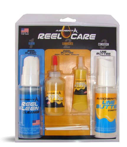 Ardent Reel Care 1-2-3 Reel Care Pack (Clean, Preserve, Lubricate)