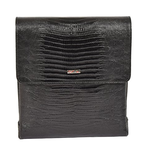 Bag Organiser Real Tablet Titus Black Body Print Snake Shoulder Leather Cross Yvr8Yq
