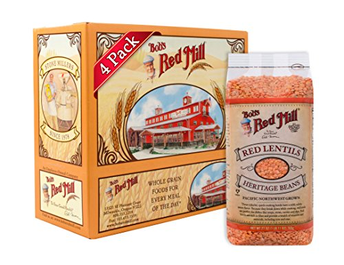 Red Lentils (Bob's Red Mill Red Lentils, 27-ounce (Pack of 4))