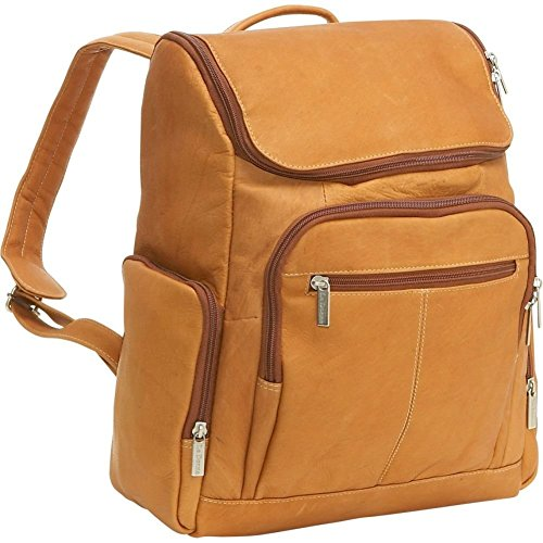 Le Donne Vaqueta Leather Computer Backpack, 15.4