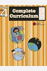 Complete Curriculum: Grade 4 (Flash Kids Harcourt Family Learning) Paperback