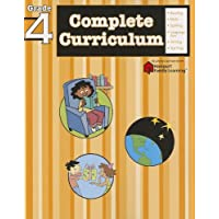 Complete Curriculum: Grade 4 (Flash Kids Harcourt Family Learning)