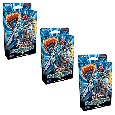 Yu-Gi-Oh! TCG: Mechanized Madness Structure Deck (Set of 3): Toys & Games