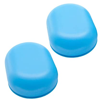 3637d1b8ec1e Bligli Soap Dish, Soap Case with Lid,Soap Bar Holder for Shower, Bathroom  and Kitchen Sinks, 2 Pack (Blue)