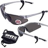 SPITS - Thresher Running -Cycling Bifocal Sunglasses - ANSI Z87.1+ Safety Compliant (2.00 Smoke Bifocal)