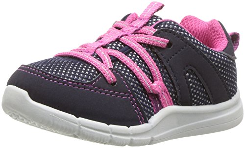 - OshKosh B'Gosh Girls' Deniz Sneaker, Navy, 11 M US Little Kid