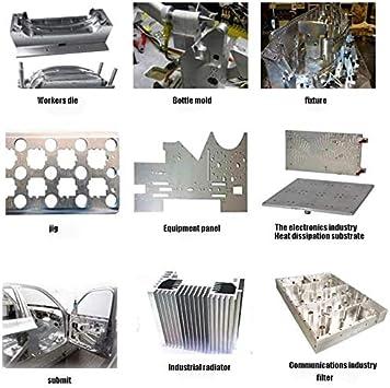MHUI Plaque DAluminium pour Lartisanat en M/étal ,1.5mm x 200mm x 200mm 7,9 Pouces X 7,9pouces /Épaisseur: 1,5 mm Plaque De Panneau en Aluminium 20cm X 20cm
