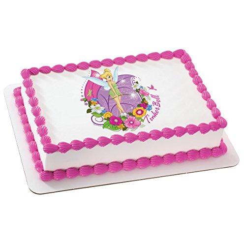 Tinkerbell Licensed Edible Sheet Cake Topper #6133