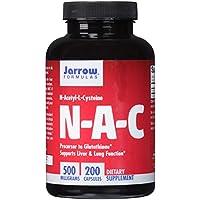 Jarrow Formulas N-A-C, N-Acetyl-L-Cysteine 500mg, Capsules