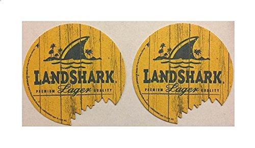 Landshark Island Lager 20 Beer Bar Pub Coasters w/ Bite