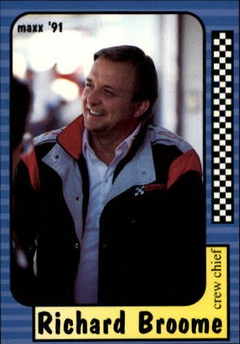 1991 Maxx #144 Richard Broome - Shops Broome