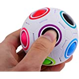 Strange-Shape Magic Cube Educational Toy,Classic Ball Style Magic Cube Abs Material Magic Cube^.
