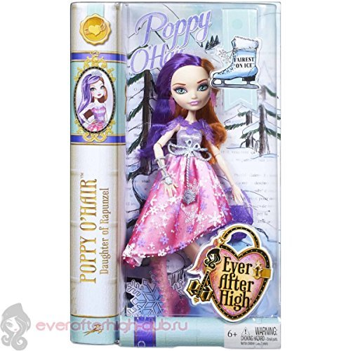 (Ever After High Poppy O'Hair Fairest on Ice)