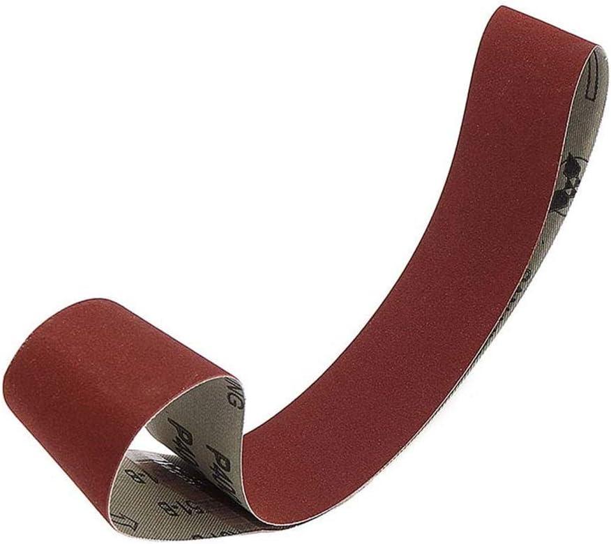CHUNSHENN Durable 40mm Variable Speed Belt Sander Sanding Grinding Machine Sanding Belt for Electric Abrasive Accessories