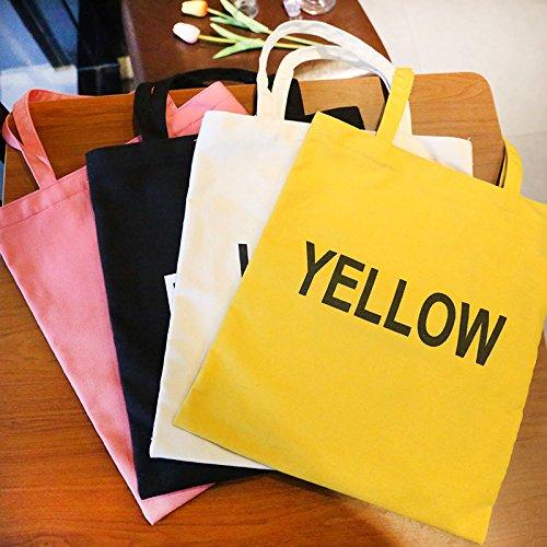 bolso compra compra compra de de de bolsa de la de compra la bolsa la la la bolso de compra compra de x 1cm Blanco x bolso la de 32cm mujer portátil bolsa 1 para hombro simple lona la casual de bolso compra ZgAqPwW