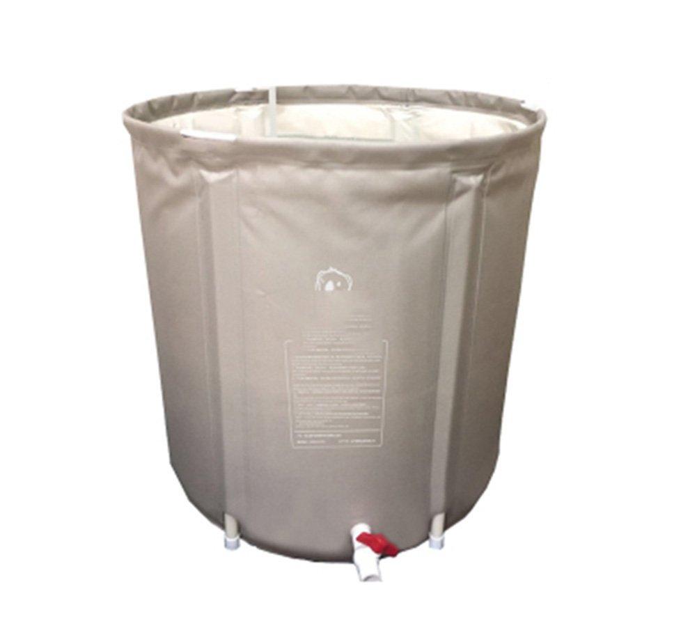 Envío rápido y el mejor servicio Durable Durable Durable Elegante Inflable Bañera Plástico Protección Medioambiental PVC Cuidado de la Salud Inicio Multifunción Aislamiento Adulto Baño Barril Bebé Inflado Ronda Baño Barril Piscina Engrosamiento Pl  barato