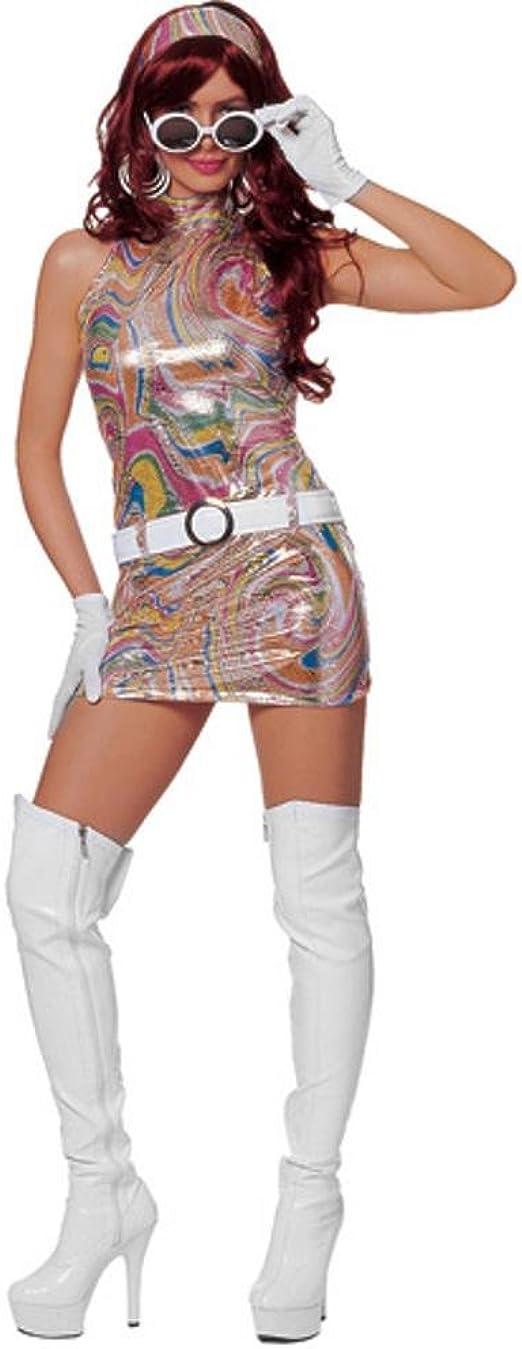 Franco American Novelty Disfraz de chica swinger de los años 60 ...