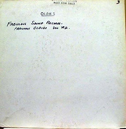 Various - VARIOUS FABULOUS OLDIES VOL  2 vinyl record