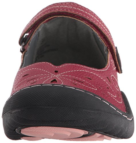 Jsport By Jambu Womens Maple Mary Jane Rosso Piatto