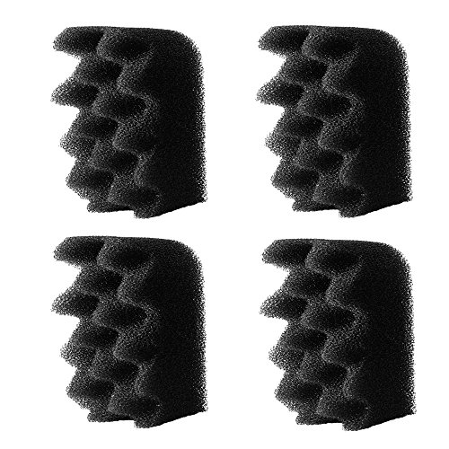 4-Pack Fluval-Compatible Replacement Foam Filters - Works with 304 / 305/ 306 / 404 / 405 / 406 Aquarium Canister Filter Models - Equivalent to Bio-Foam A237 - Made in the USA By Impresa Products by Evergreen Pet Supplies