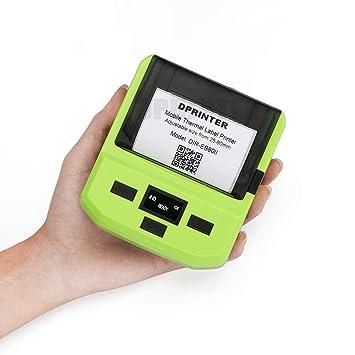 LUOXU Impresora de Etiquetas Bluetooth, con batería ...