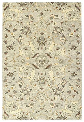 (Kaleen Rugs Helena Collection 3213-107 Gray 2' x 3' Handmade Rug)