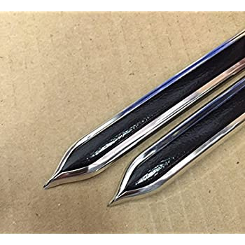"""BODY SIDE MOLDINGS UNIVERSAL With Pointed Ends 2 Each 13 Foot Pieces 7//8/"""" WIDE"""