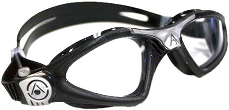 e5a1cff894c Amazon.com : Aqua Sphere Kayenne Clear Lens Swim Goggle : Sports ...